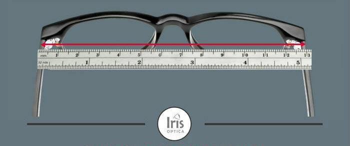 Calcularea latimii ramei ochelarilor de vedere