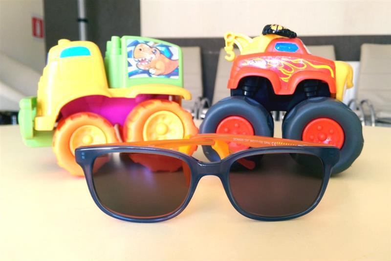 Rama pentru ochelari de vedere pentru baietei Diseny Cars cu lentile colorate cu dioptrii