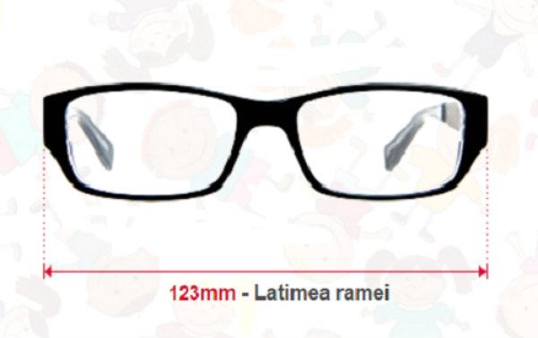 Calcularea latimii (LT) totale a ramei ochelarilor de vedere pentru copii